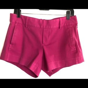 Lilly Pulitzer Magenta Shorts Size 6